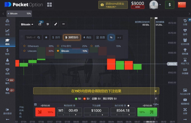二元期权模拟交易平台