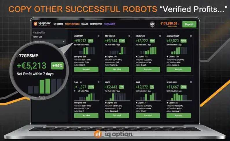 IQoption二元期权机器人