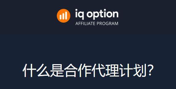 IQoption代理经纪人